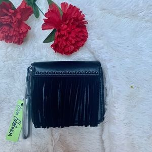 Sam Edelman Alessandra Fringe Wristlet Wallet